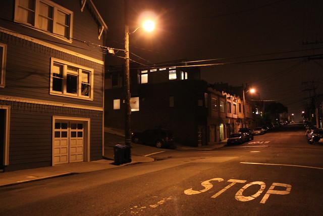 Arlington Street by night