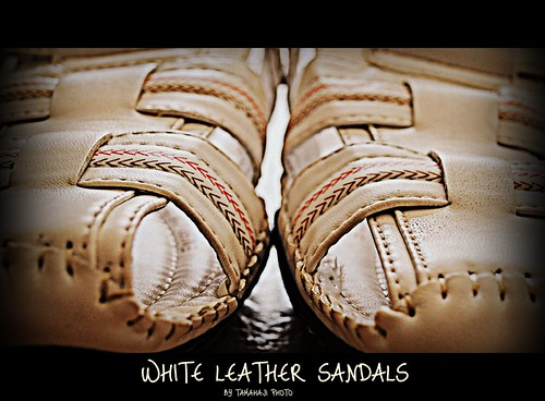 justin white men leather for 10 sandals size malaysia