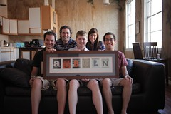 Crew: (left to right): Mike Cornelison, Jacob Fyfe, Robert Clay, Haley Robinson, Adam Schwartz