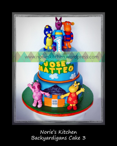 Norie's Kitchen - Backyardigans Cake 3 by Norie's Kitchen