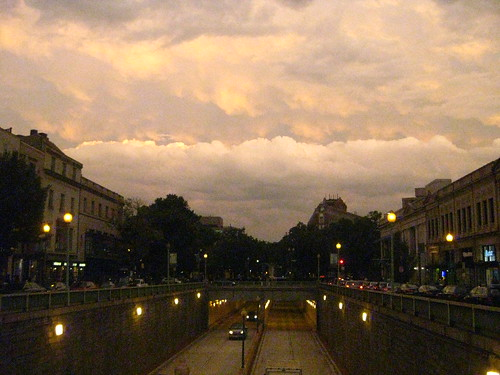 Clouds over Dupont Circle