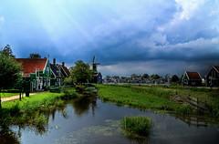 Zaanse Schans (Aberration Art) Tags: holland netherlands nikon hdr nikonhdr d7000 nikond7000 nikond7000hdr