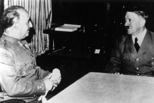 Entrevista Franco-Hitler durante la II Guerra Munidial