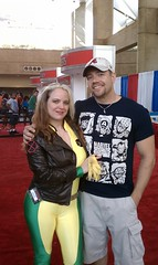 Jer & Rogue (J. Nemcosky) Tags: costume xmen rogue superheroes marvel comiccon stanlee baltimorecomiccon