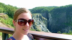 Day 239:  Brooke at Barron Gorge Falls