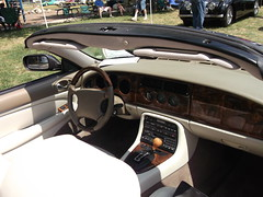2001 Jaguar XK8(2) (cjp02) Tags: show classic car vintage indiana days british motor zionsville fujipix av200 cjp02 2001jaguarxk8indy
