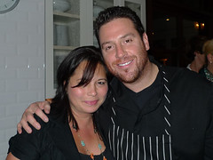 with Chef Scott Conant at Scarpetta Beverly Hills