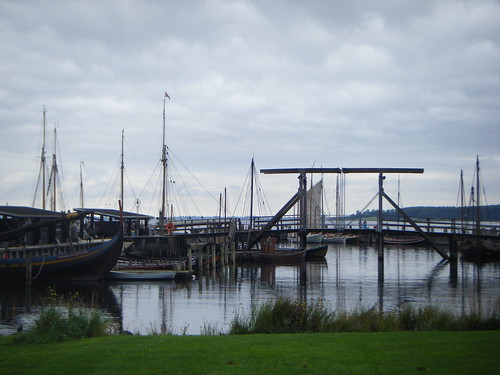 Harbour at the Viking Ship Museum