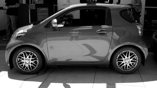 Scion iQ Press Reveal