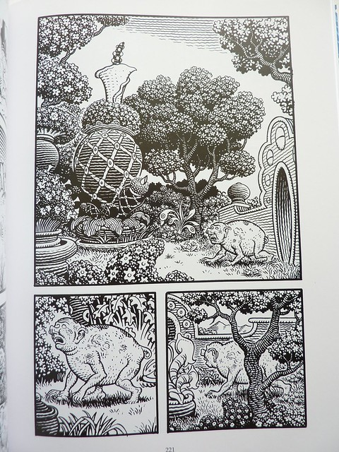 The Frank Book by Jim Woodring - page