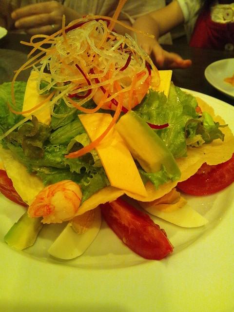 コルティーレのコブサラダの写真