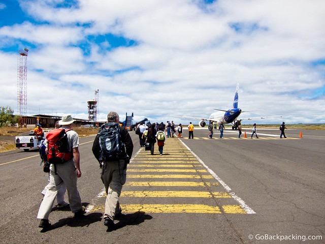 Airport on Santa Cruz Island