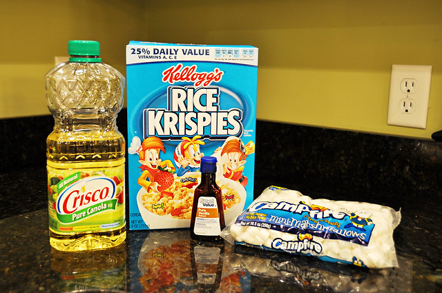 rice krispie ingredients