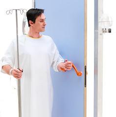 Une poigne qui renforce l'hygine (Ulna system) Tags: les de porte mains sans contamination poigne hygine