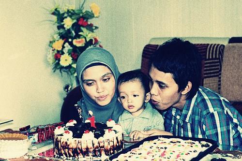 Akhtar 1st birthday