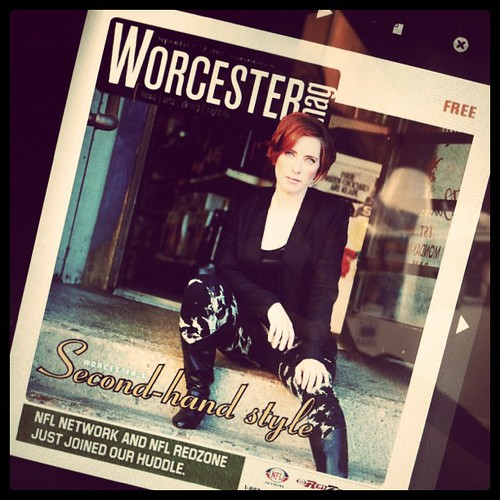 The cover story i styled for Worcester Magazine is out! Yay!