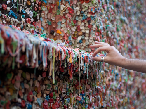 Gum Wall - Copyright - Colby Perry - All Rights Reserved