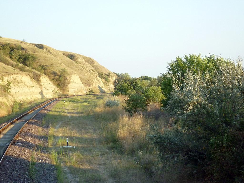 Part of the railway between Cislita-Prut and Giurgiulesti