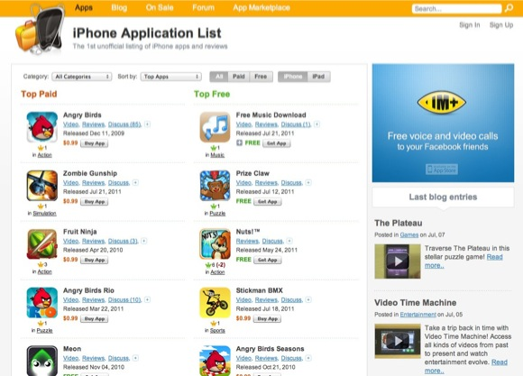 iPhone Apps, iPad Apps, iPhone 3GS Apps, iPad games, iPod Touch games, app reviews and forum