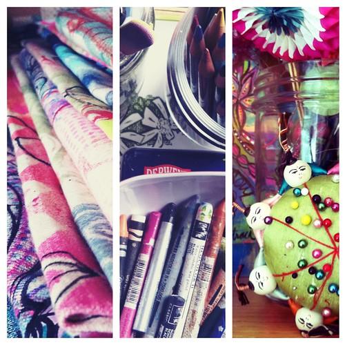 snapshots of my studio