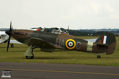 G-HURI - Z5140 - 72036 - Private - Hawker Hurricane Mk12A - 110710 - Duxford - Steven Gray - IMG_7230