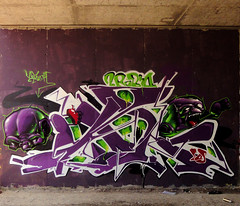 INCA _2RAbiD (SRCARAMELOS) Tags: new colour inca soldier graffiti spain paint colours spray urbanart alicante satan hunter graff eds th nuevo candyman caramelos pieza 2011 novedad 2k11