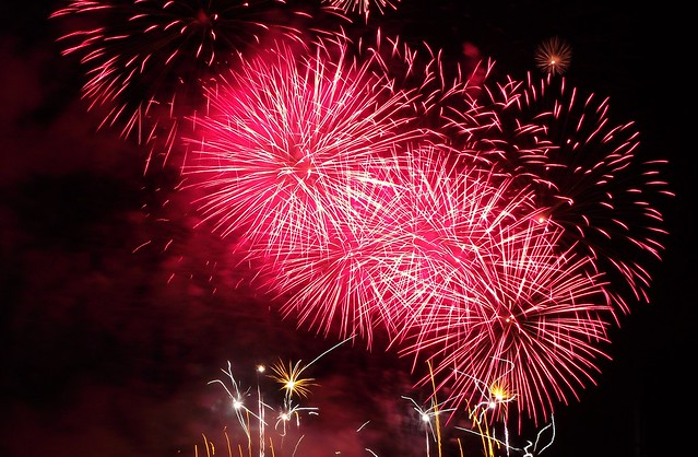 Edinburgh Festival Fireworks 2011 02