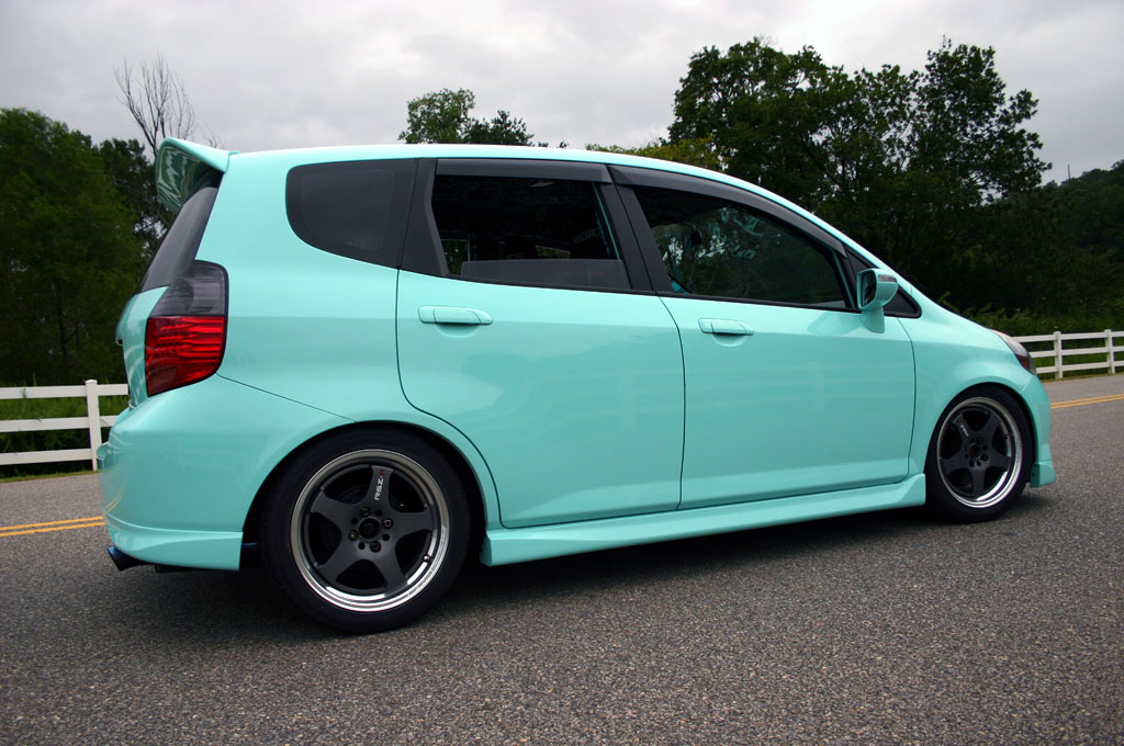 Tiffany Teal Fit Unofficial Honda Fit Forums
