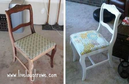 Shabby Chic Chair Project