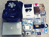 what's in my bag: school edition (pixellated spiff) Tags: apple sunglasses candy wallet stickers journal olympus backpack pens altoids whatsinmybag element filofax raybans e500 dianamini ochrepocketmalden