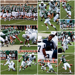 Howard@EMU: The Game (E.Peoples) Tags: music sports musicians football mac cheerleaders dancers collages events athletes ncaa bison eagles easternmichiganuniversity howarduniversity marchingbands bcf hbcu meac blackcollegefootball