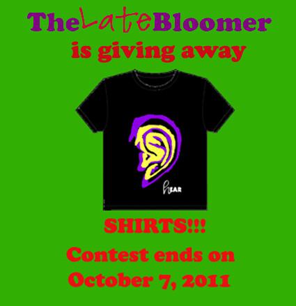 hEAR yeah Shirts Giveaway