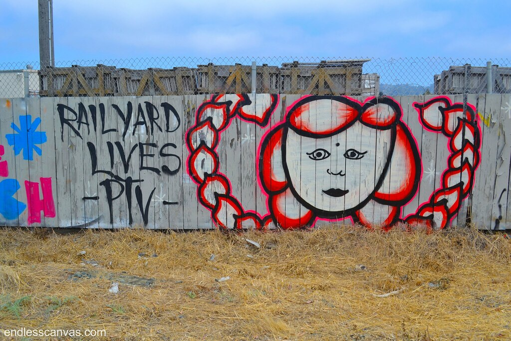 RAILYARD, PTV, Bella Ciao, BROKE ONE, BROKE, Graffiti, Street Art, East Bay, the yard,