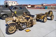 1942 BMW R75 Wehrmachtsgespann (eugene.photo) Tags: california usa us bmw 1942 airports r75 fairfield suu travisairforcebase travisafb wehrmachtsgespann 745cc airpowerexpo 1942bmwr75wehrmachtsgespann skiesoversolano