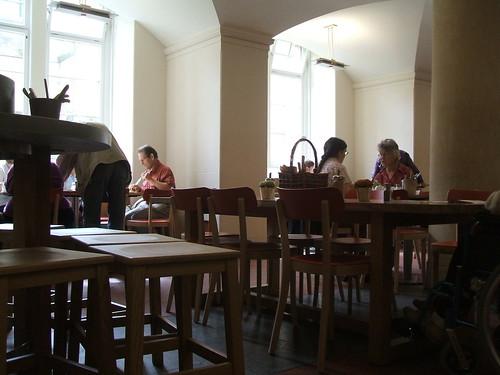 Ashmolean cafe