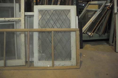 Vintage Windows at Community Forklift