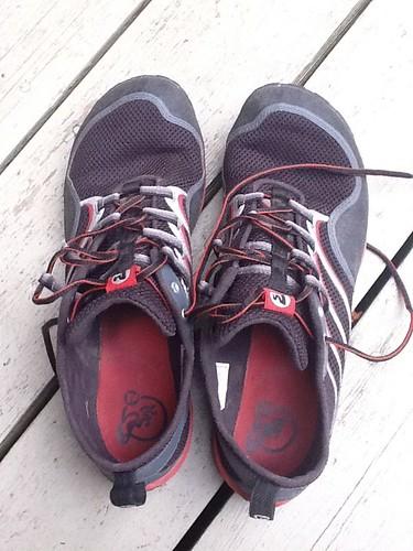 running barefoot minimalist merrell trailglove trailglovepro