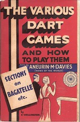 The Various Dart Games (Covers etc) Tags: 1920s girl design 1930s dress games paperback cover bookcover hobbies