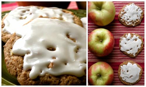 MF Maple Glazed Apple Cookies Collage