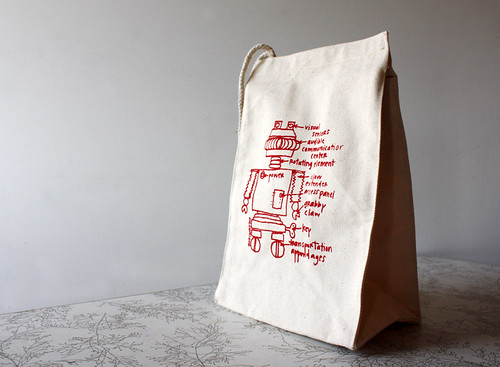 best robot ever diagram lunchbag