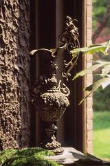 Bronze Ewer (Non Paratus) Tags: film metal bronze washingtondc victorian slide transparency scanned canonae1 pitcher dupontcircle ewer 1892 heurichhouse