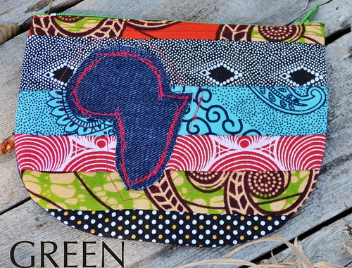 green coin purse