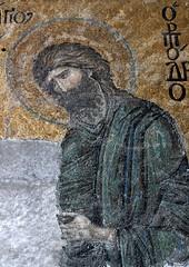 Istanbul: Hagia Sophia (Desis Mosaic) (zug55) Tags: turkey mosaic interior trkiye mosaics istanbul unescoworldheritagesite unesco worldheritagesite hagiasophia byzantine byzantium ayasofya johnthebaptist haghiasophia deesis byzantineempire deisis desis desismosaic ioannesprodromos