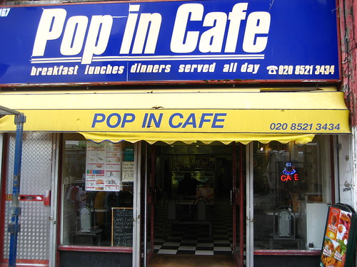 Pop in cafe