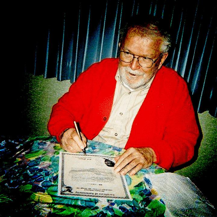 Bill Thomas Signing