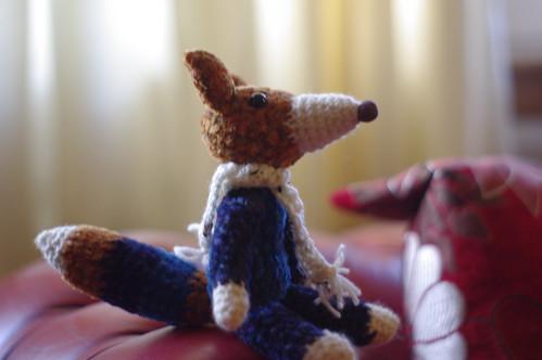 amigurumi #31 fox's clone 1-2