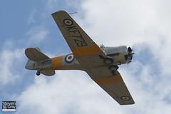 G-BJST - KF729 - CCF4-XXX - Private - CCF T-6H Harvard Mk4M - 110710 - Duxford - Steven Gray - IMG_6851