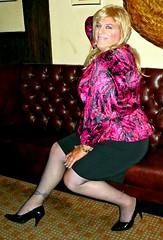 Smiling Jennifer (jennifernichols36) Tags: girl tv jennifer transgender tranny transvestite satin transgendered crossdresser ts gurl tg trannie crossdressng jennifernichols