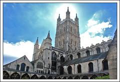 Gloucester Cathedral (Neil Walker (PT)) Tags: uk england niceshot cathedral gloucester doubleniceshot tripleniceshot mygearandme mygearandmepremium mygearandmebronze