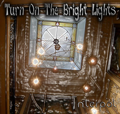 Turn On The Bright Lights (Annie in Beziers) Tags: france photoshop square album cd cover interpol lightwell turnonthebrightlights week89 annieinbziers interplod
